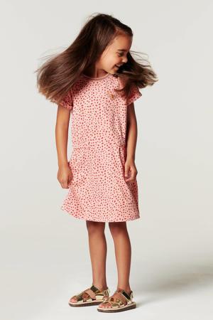 jurk Lumsden met biologisch katoen roze