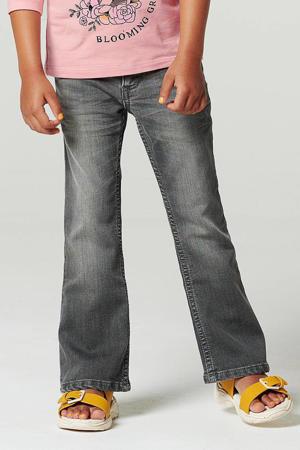 flared jeans Lettastreet grijs