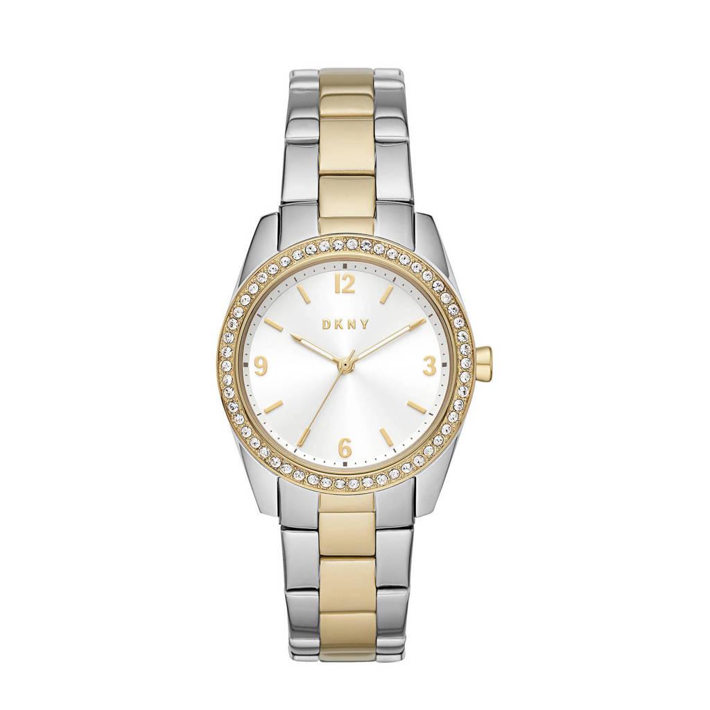 DKNY horloge NY2903 Nolita Zilver, goud, Zilver/goudkleurig