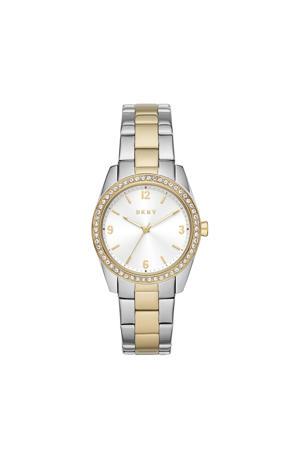 horloge NY2903 Nolita Zilver, goud
