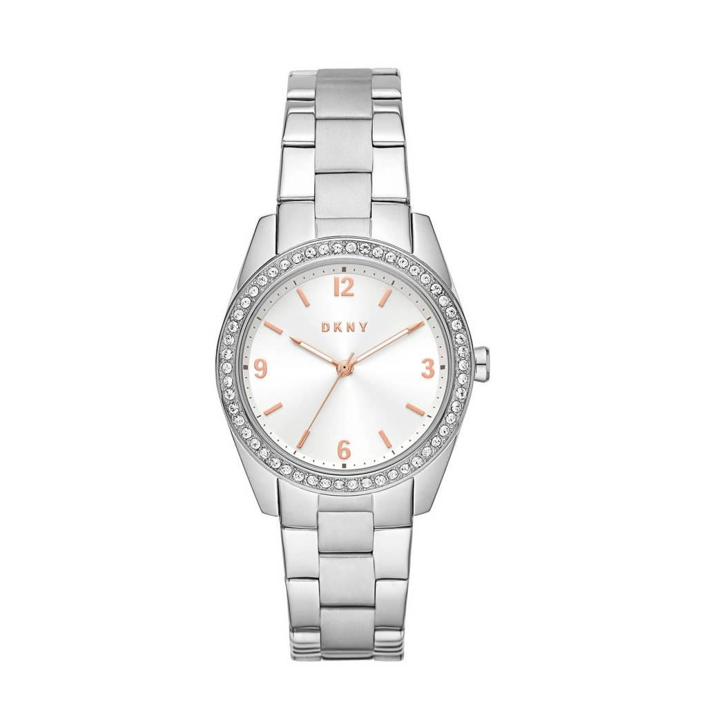 DKNY horloge NY2901 Nolita Zilver, Zilverkleurig