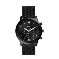 Fossil horloge FS5707 Neutra Chrono zwart, Zwart