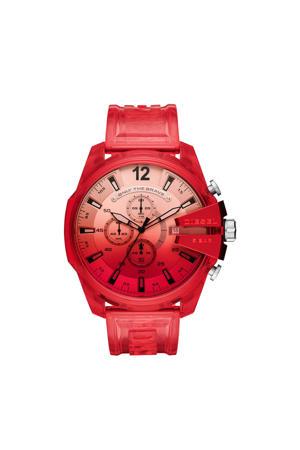 horloge DZ4534 Mega Chief rood