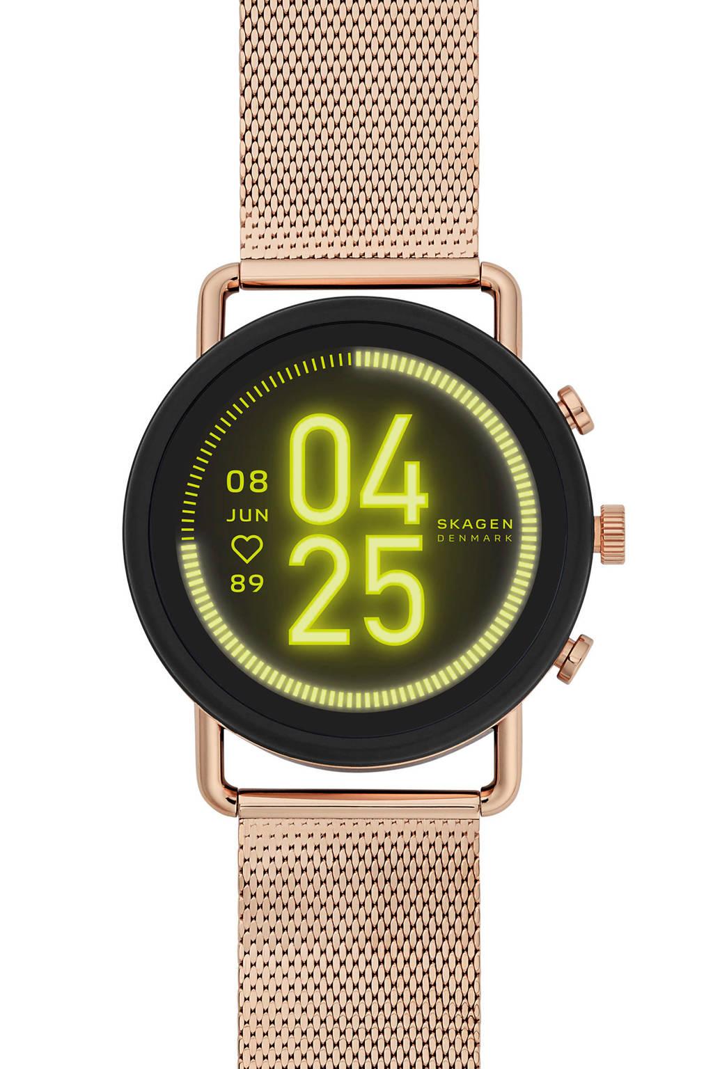 Skagen Connected Falster 3 Gen 5 Dames Display Smartwatch SKT5204, Rosé