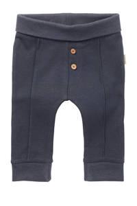 Noppies baby slim fit broek Mont Joli met biologisch katoen donkerblauw, Donkerblauw