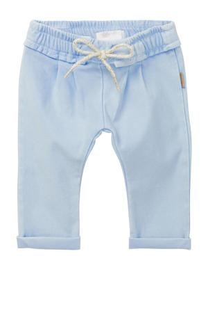 baby slim fit broek Mesnil lichtblauw