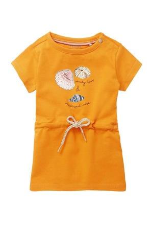 baby jurk Machala met biologisch katoen oranje