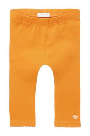 baby legging Maizy met biologisch katoen oranje
