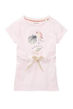 baby jurk Machala met biologisch katoen lichtroze