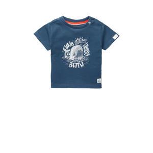 baby T-shirt Twisk met biologisch katoen blauw