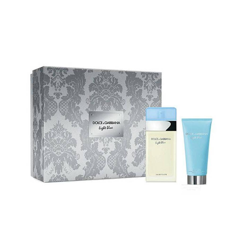 Dolce & Gabbana Light Blue eau de toilette geschenkset - 50 ml + 100 ml