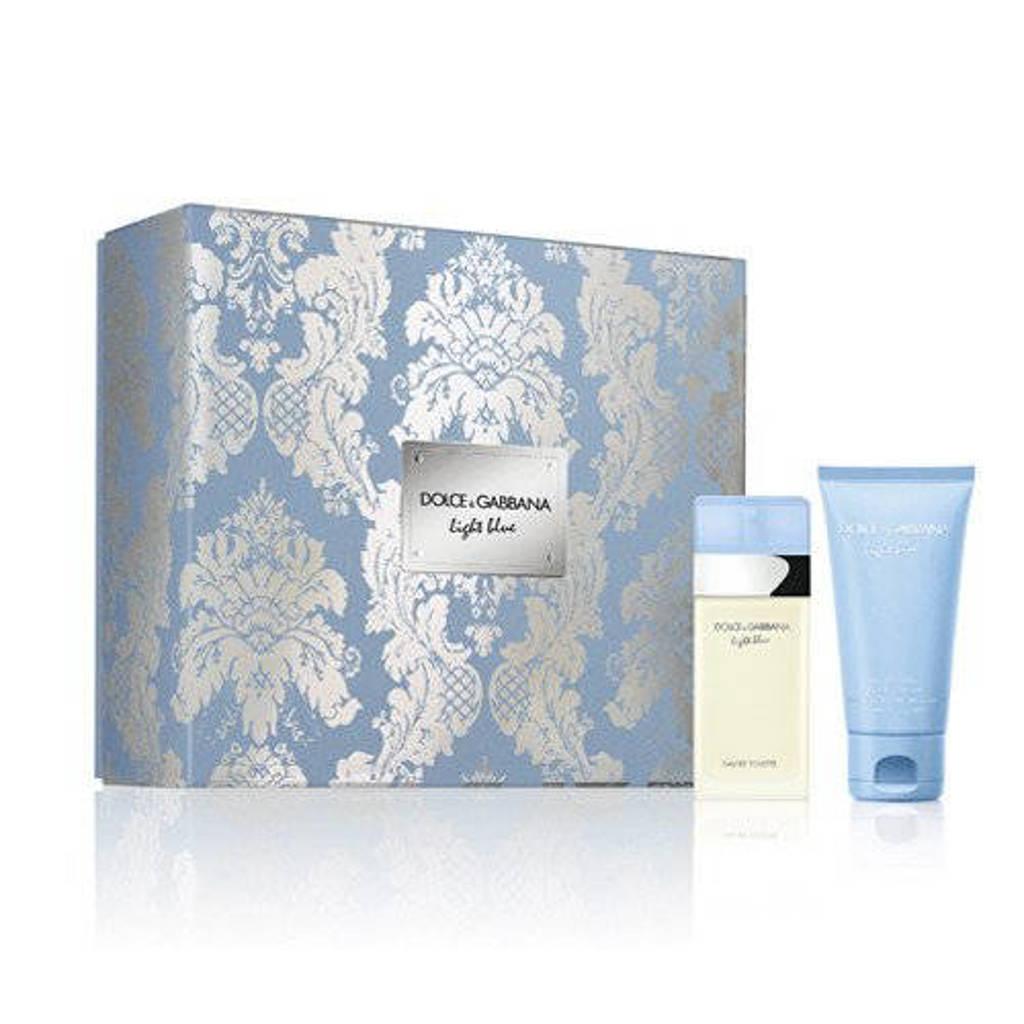 Dolce & Gabbana Light Blue eau de toilette geschenkset - 25ml + 50 ml