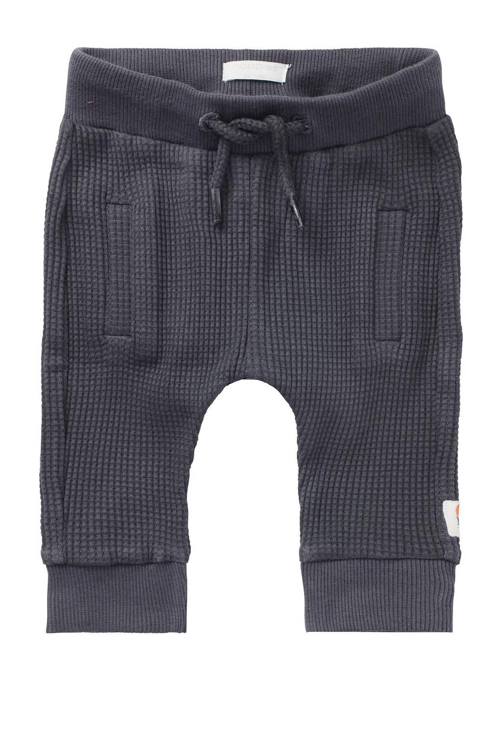Noppies baby broek Toledo met biologisch katoen zwart, Zwart