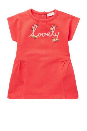 baby jurk Mieste met biologisch katoen oranje