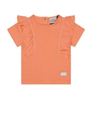 baby T-shirt Angel van biologisch katoen zalmroze