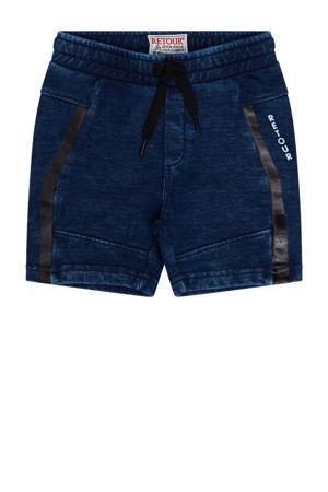 regular fit baby sweatshort Jilles medium blue denim