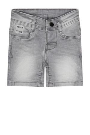 regular fit jeans bermuda Diets light grey denim