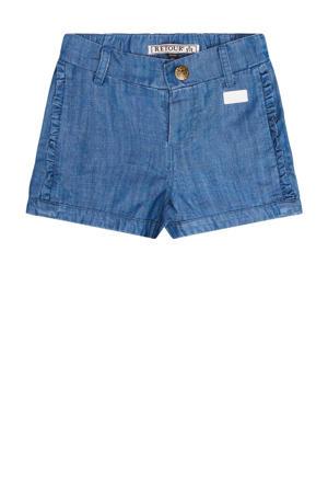 regular fit jeans short Kimberley light blue denim