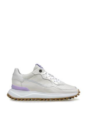 NOPPI  leren sneakers off white