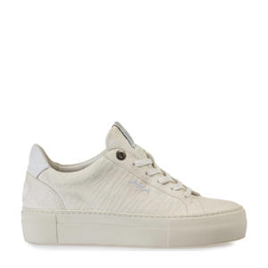 Vinni  leren sneakers off white