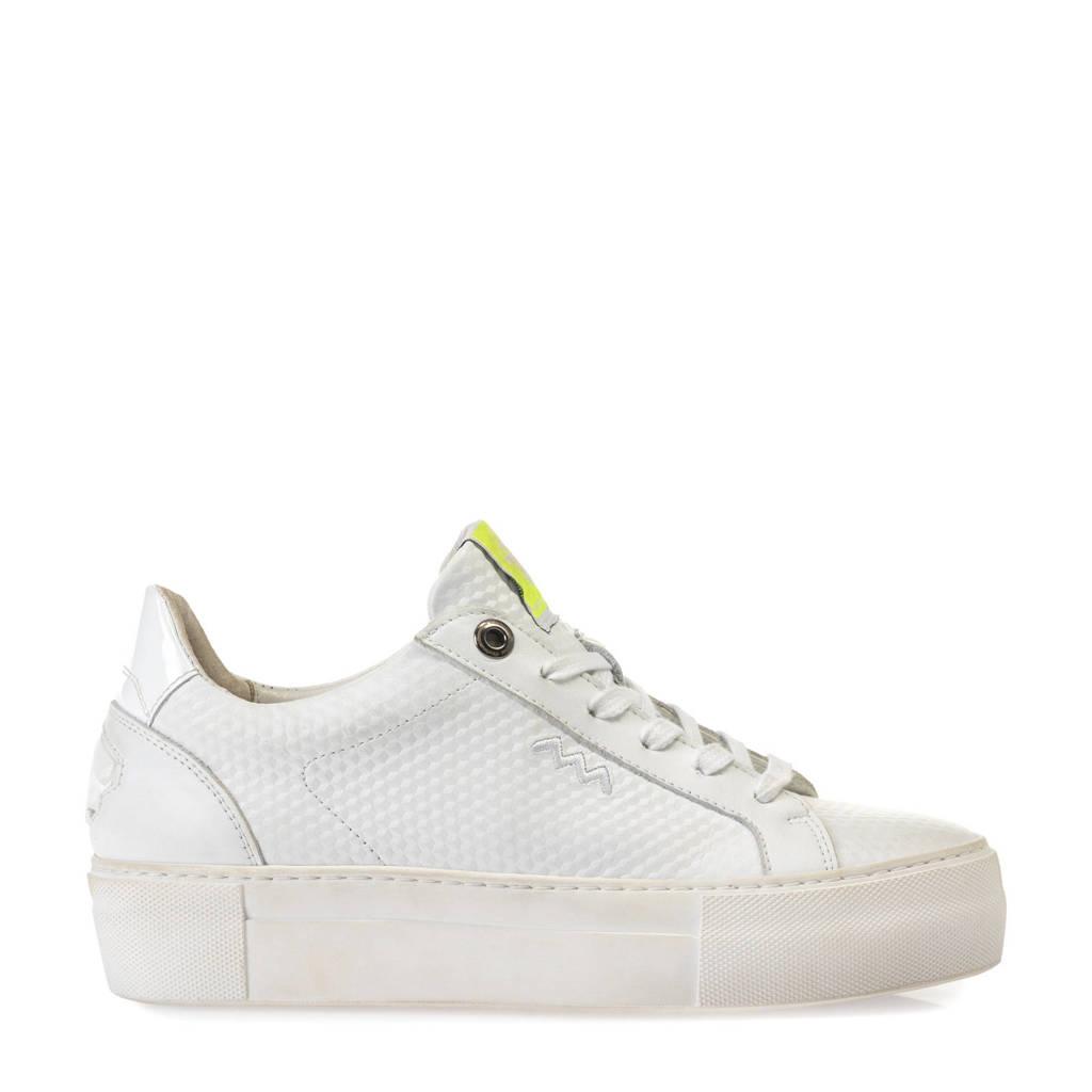 Floris van Bommel Vinni  leren sneakers wit, Wit