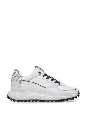 NOPPI  leren sneakers wit