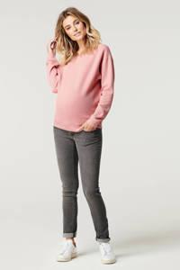 Noppies low waist skinny zwangerschapsjeans Avi lichtgrijs, Lichtgrijs