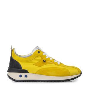 Vinti  suède sneakers geel