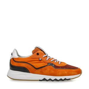 Nineti  suède sneakers oranje