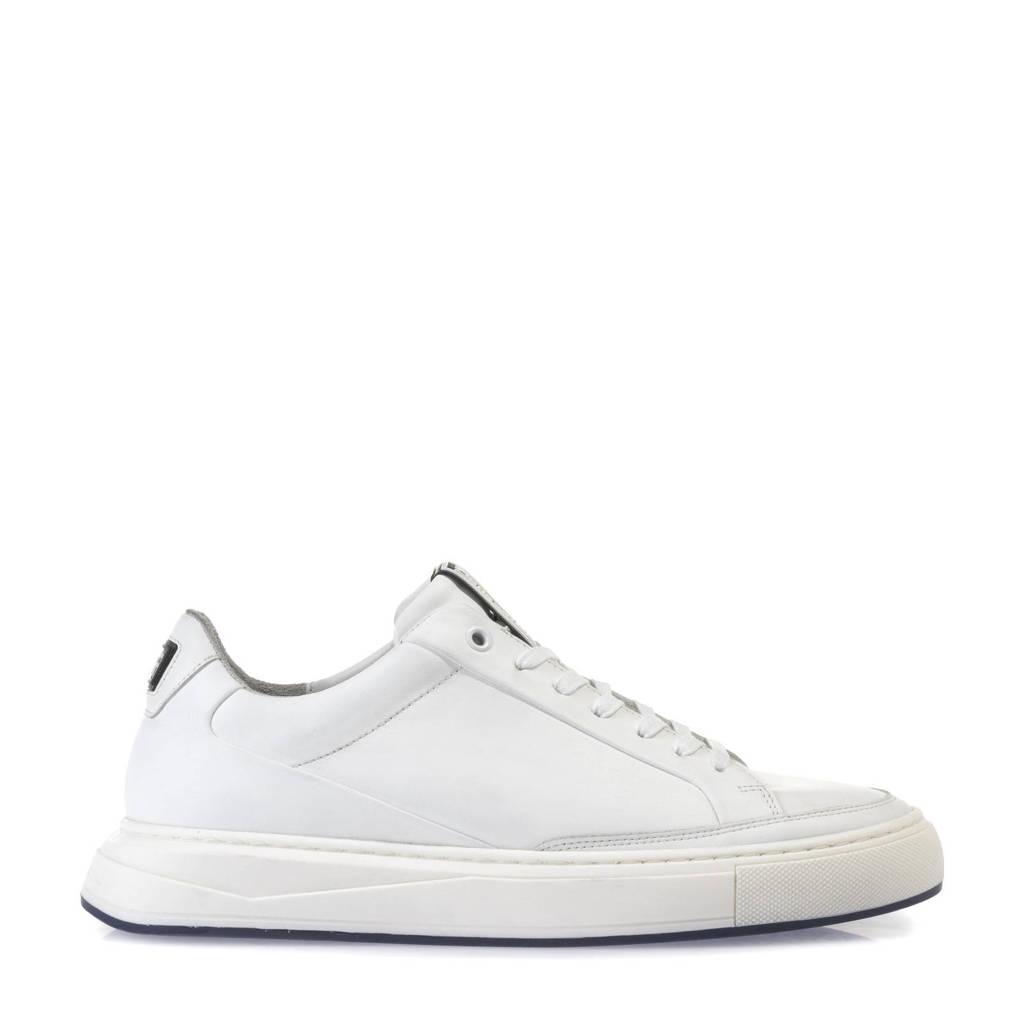 Floris van Bommel Richi  leren sneakers wit, Wit
