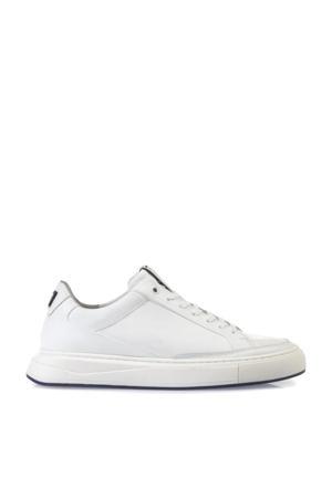 Richi  leren sneakers wit