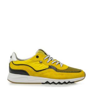 Nineti  suède sneakers geel