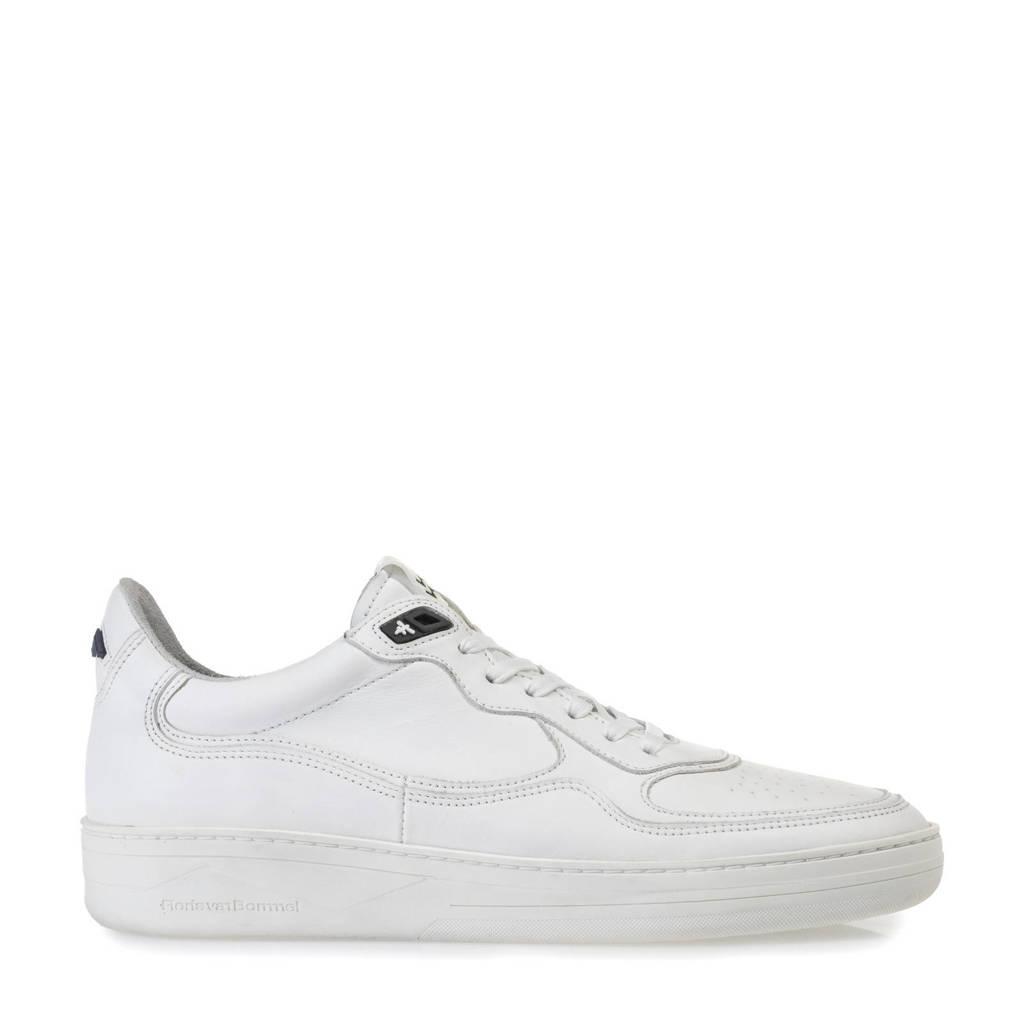 Floris van Bommel Wembli  leren sneakers wit, Wit
