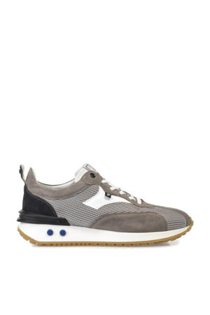 Vinti  suède sneakers grijs
