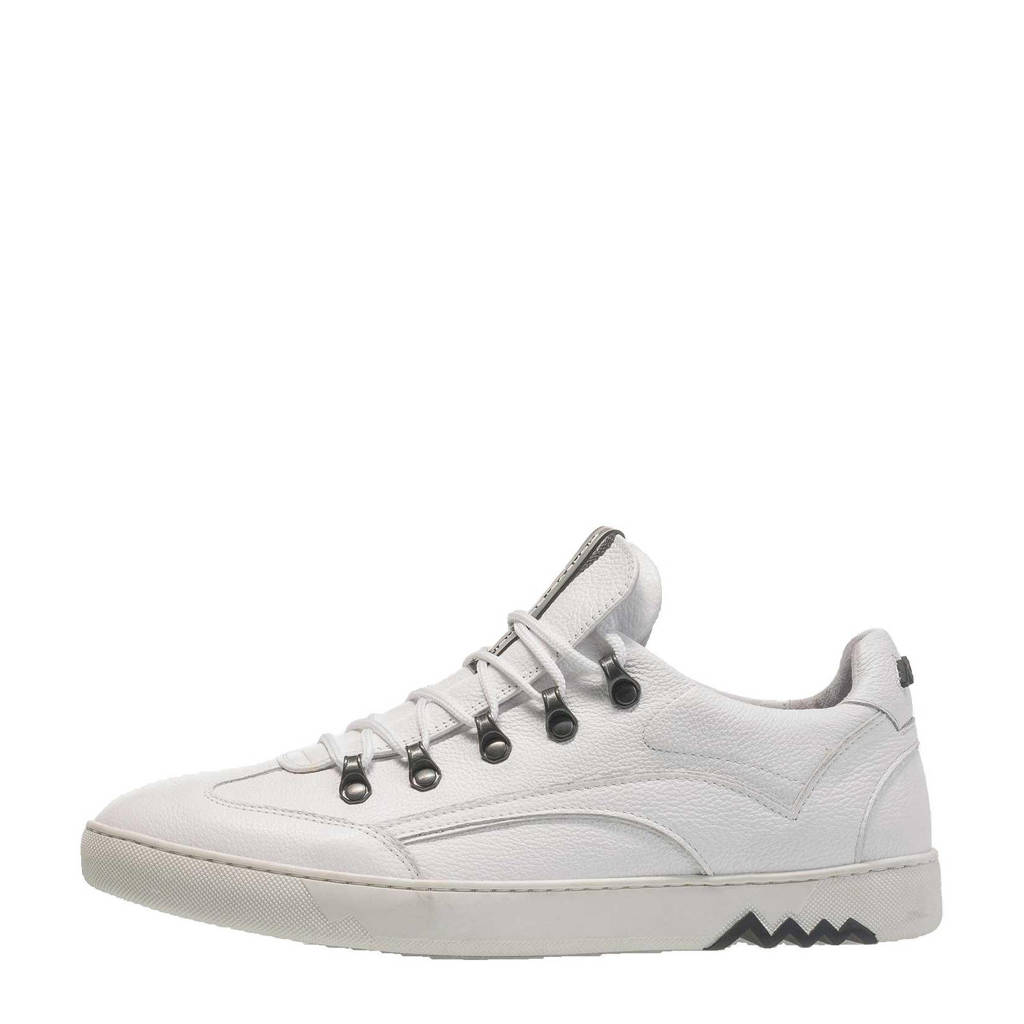 Floris van Bommel Armi  leren sneakers wit, Wit