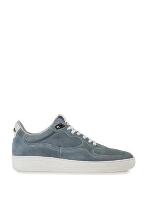Wembli  suède sneakers grijsblauw