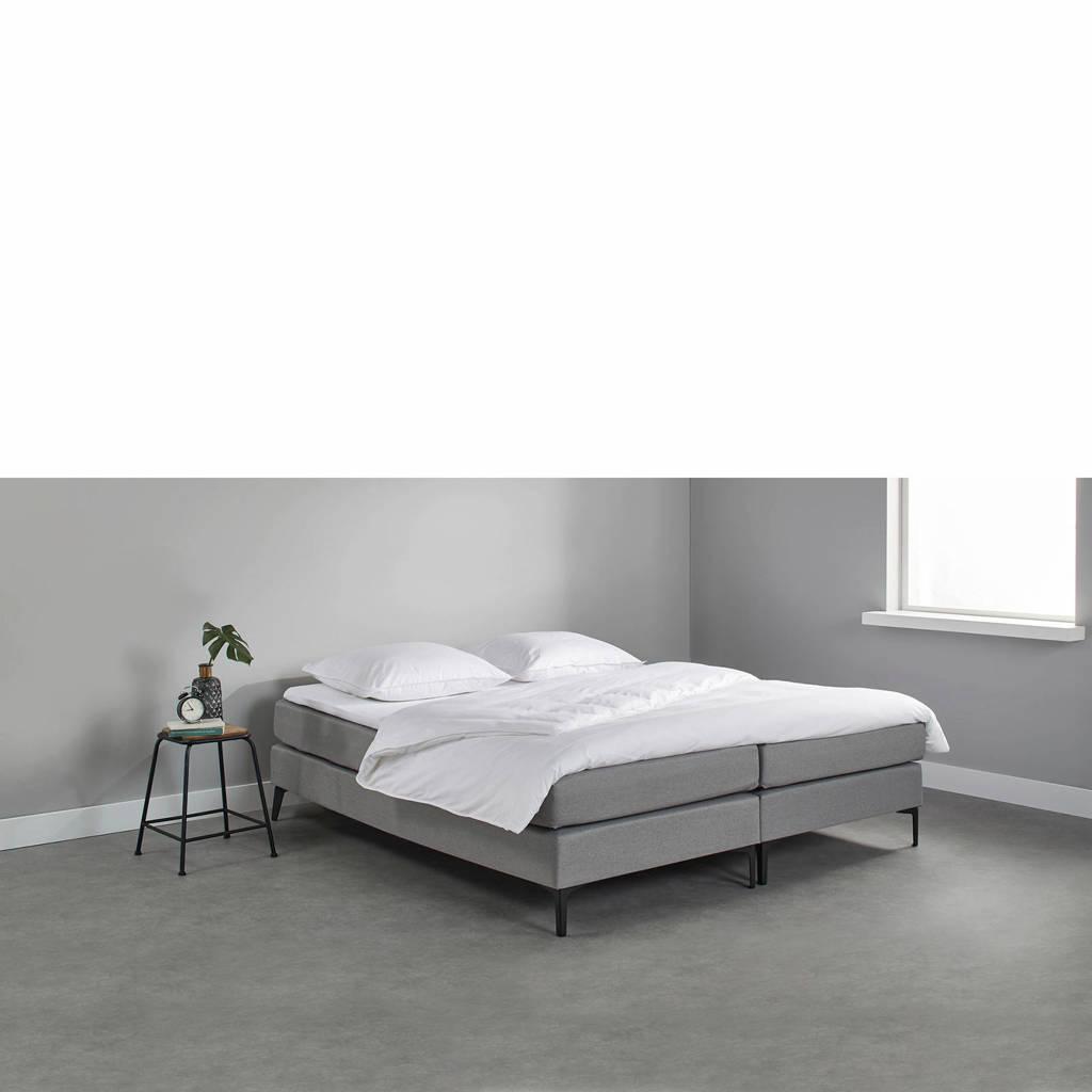 Beter Bed complete boxspring Southampton (140x200 cm), Lichtgrijs