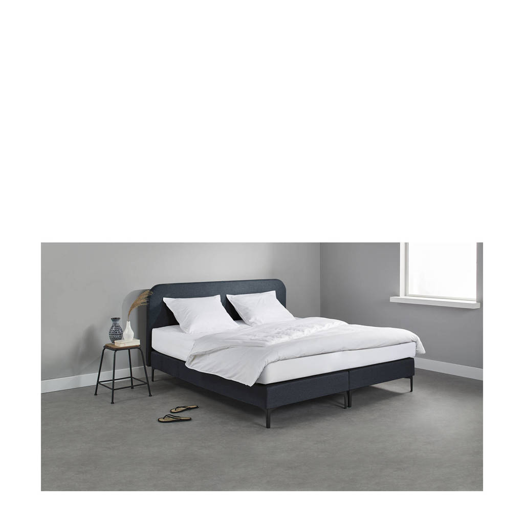 Beter Bed complete boxspring Reading (160x200 cm), Blauw