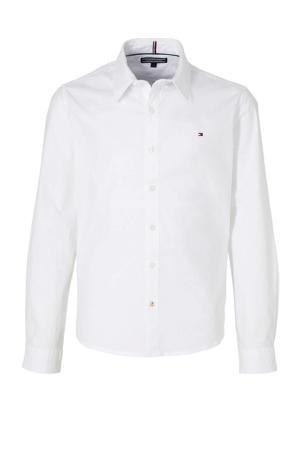 overhemd met biologisch katoen wit