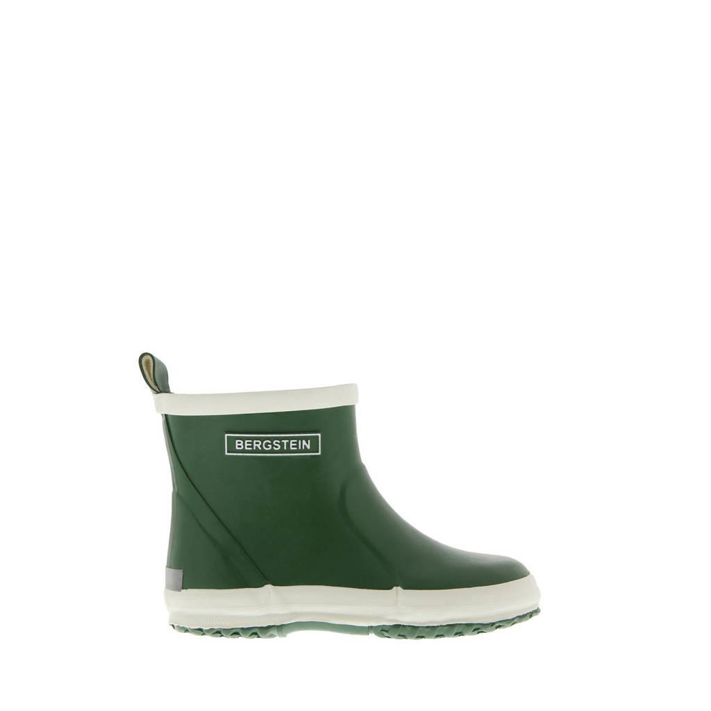 Bergstein Chelseaboot  lage regenlaarzen groen kids, Groen