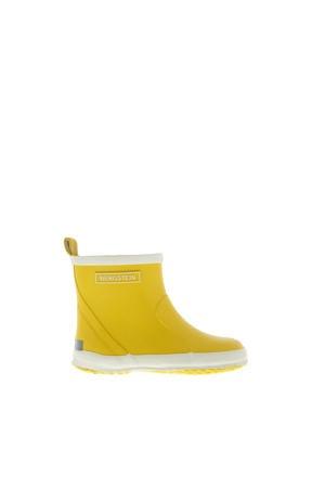 Chelseaboot  lage regenlaarzen geel kids