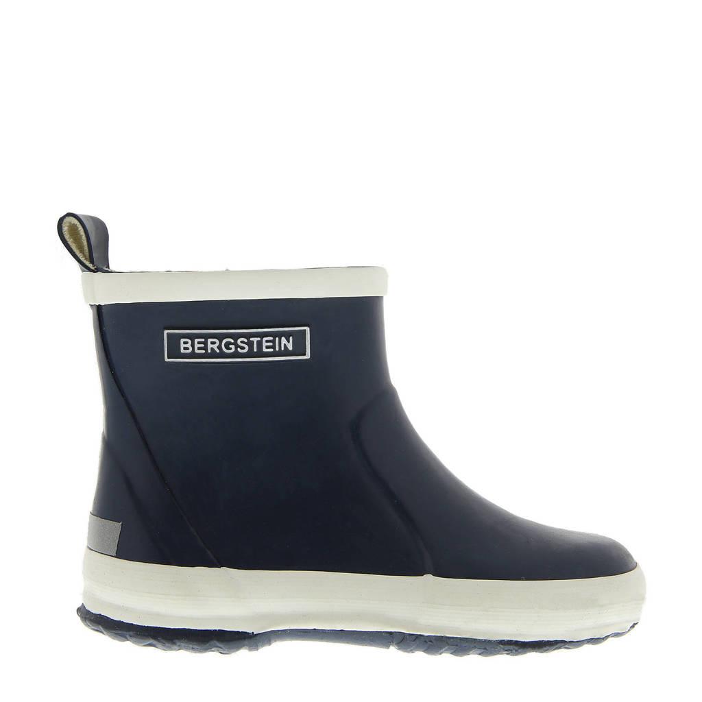 Bergstein Chelseaboot  lage regenlaarzen donkerblauw kids, Donkerblauw