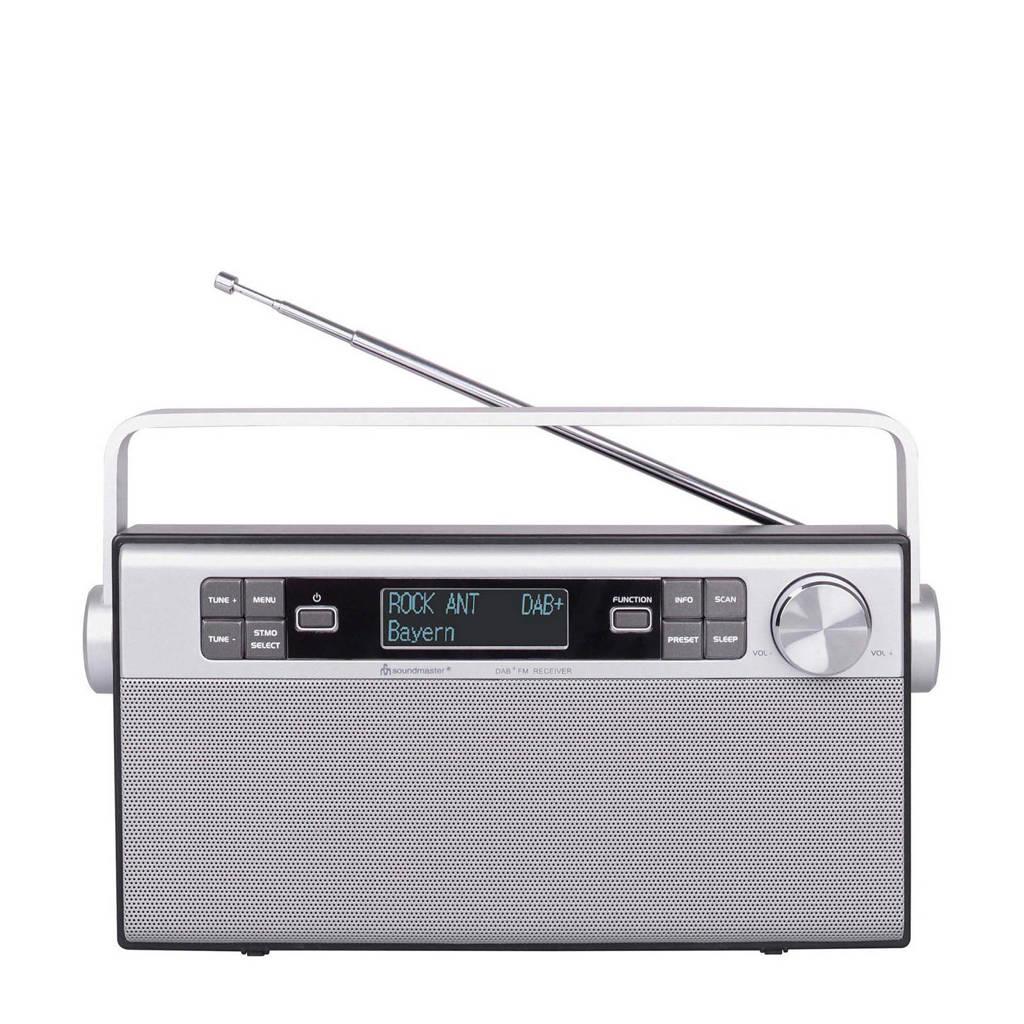 Soundmaster DAB650 DAB+-en FM radio, Zilver