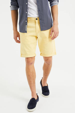 slim fit chino short butter fly
