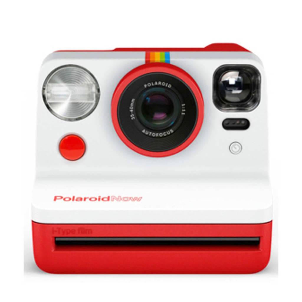 Polaroid Now analoge camera, Rood