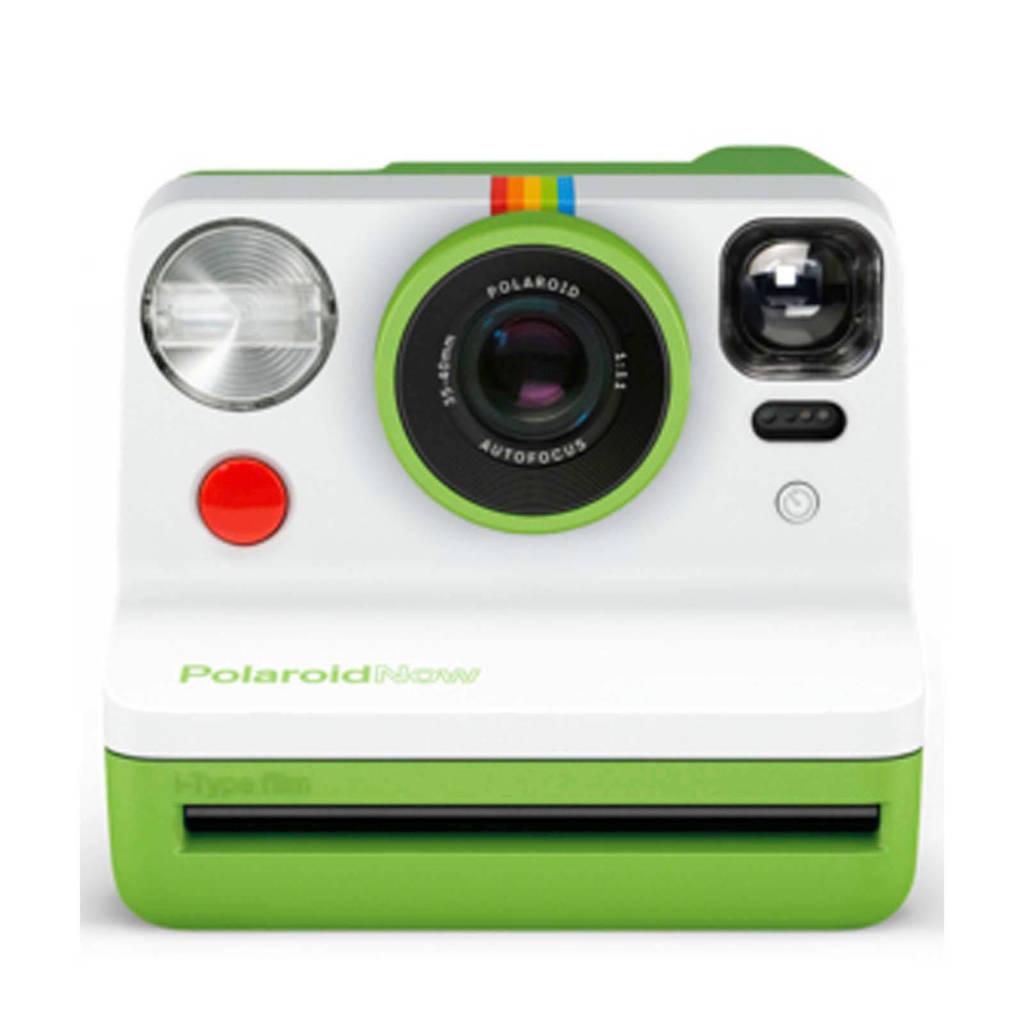 Polaroid Now analoge camera, Groen, wit