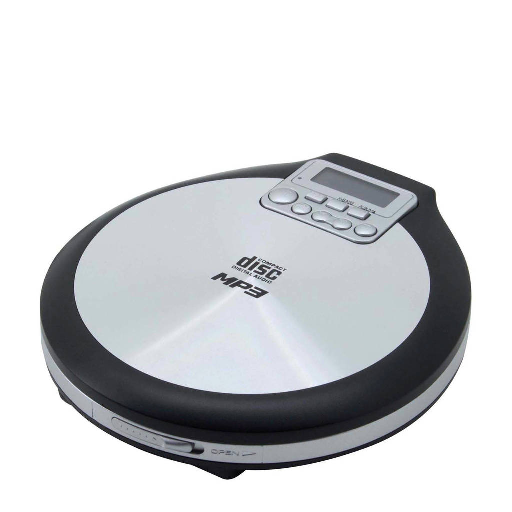 Soundmaster CD9220 discman, Zwart, Roestvrijstaal