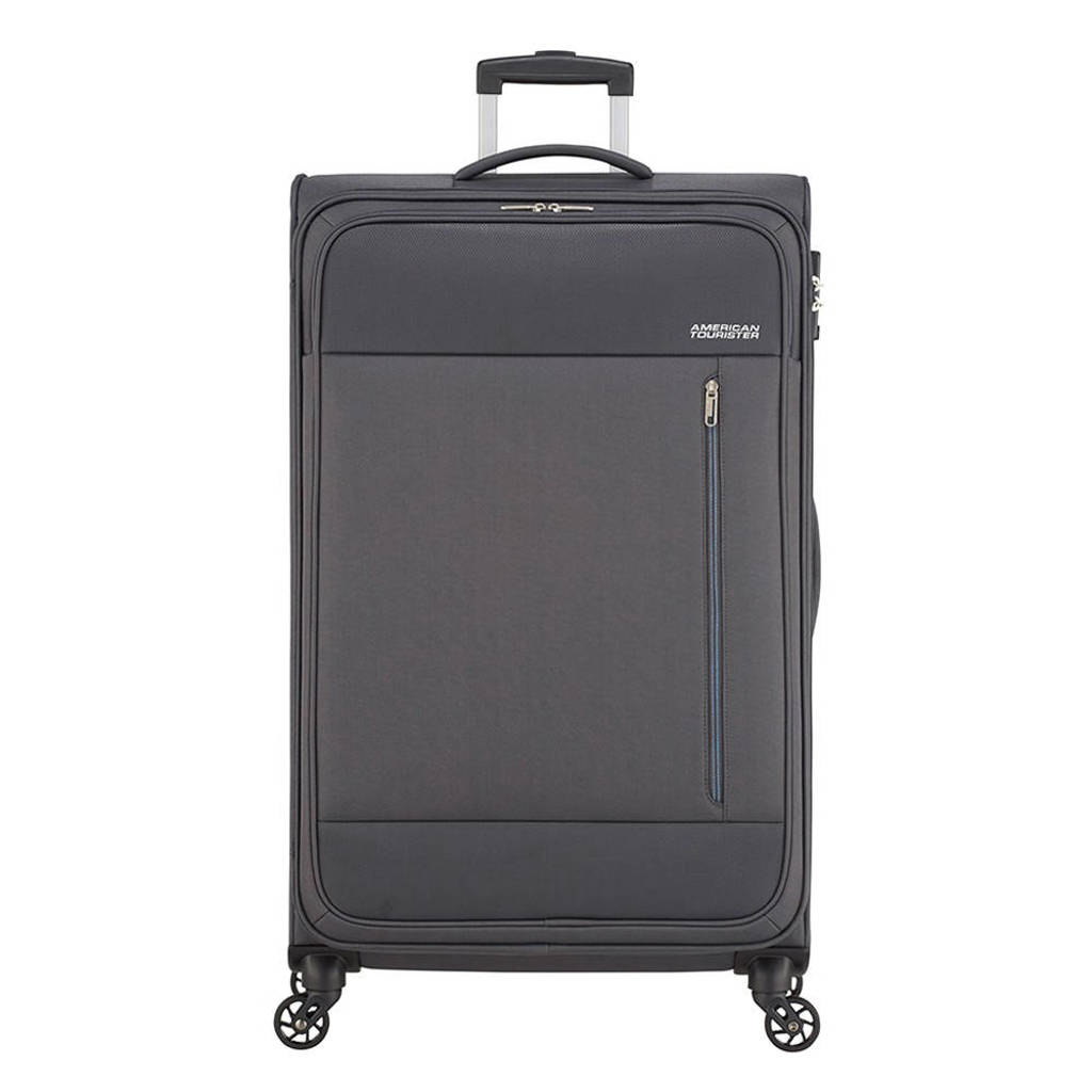 American Tourister  trolley Heat Wave Spinner 80 cm. antraciet, Grijs