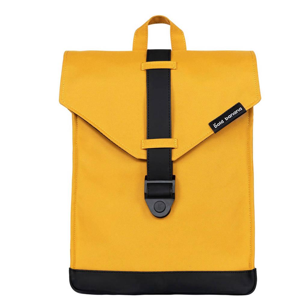 Bold Banana  15,6 inch rugzak Original Backpack rood, Geel/zwart