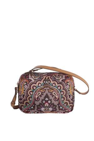 Paisley S Shoulder Bag donkerbruin